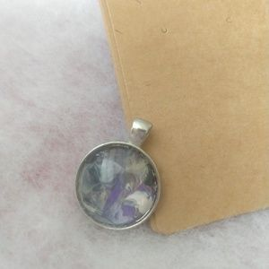 Jewelry - Silver pendant with one of a kind designs